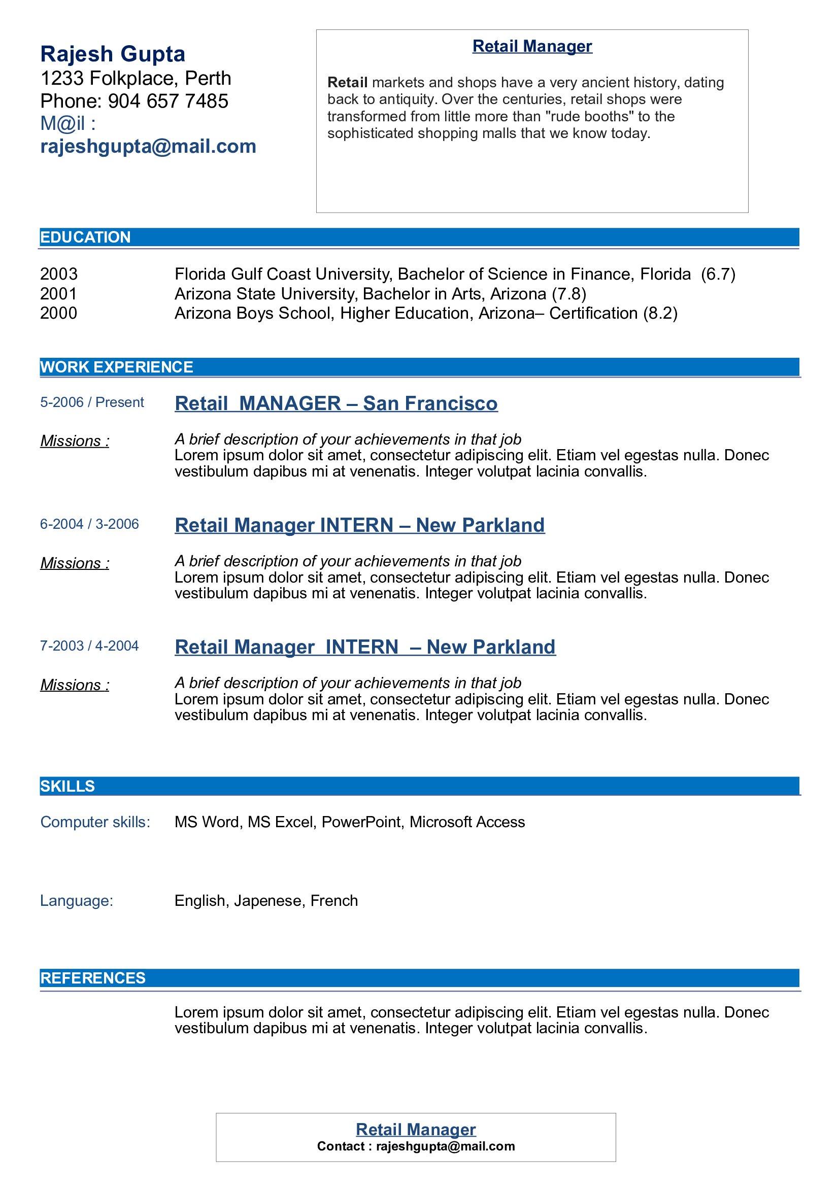 CV ORIGINAL 28 Curriculum Vitae